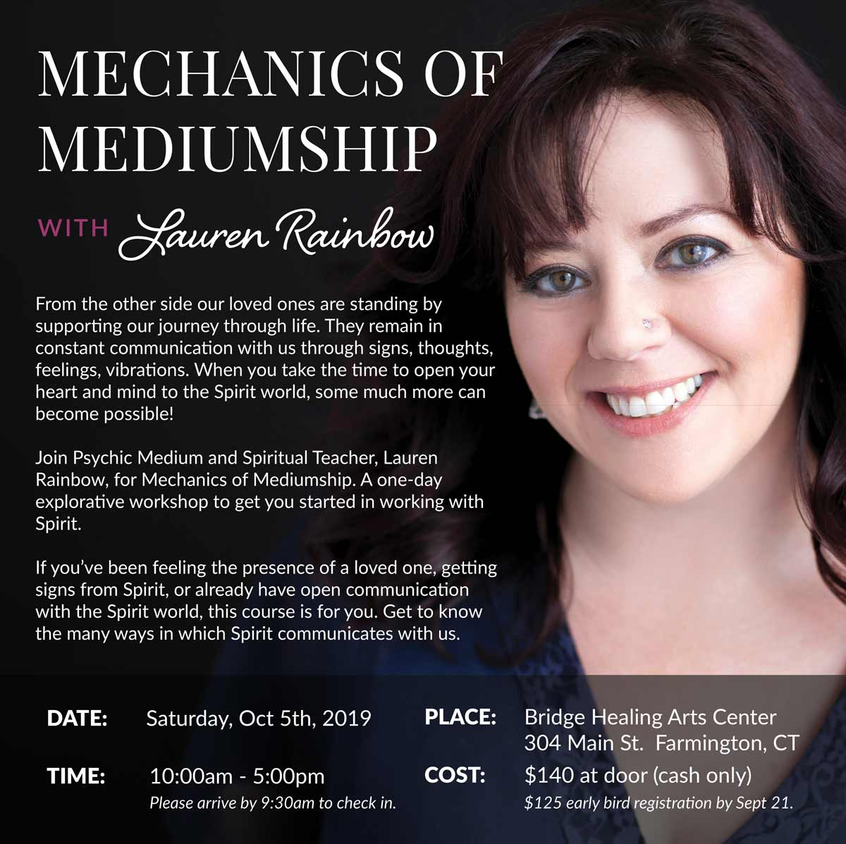 Mechanics of Mediumship @ Bridge Healing Arts Center | Farmington | Connecticut | United States